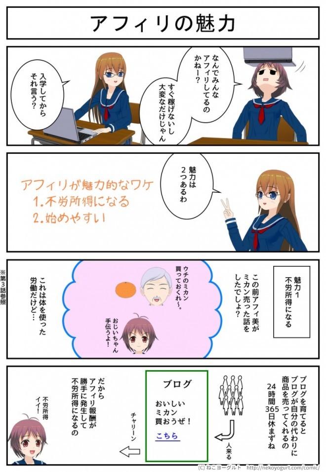 あふぃみ☆えいこ 4話3