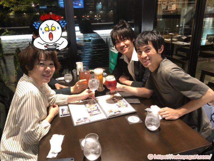 2018年10月、岡山飲み会