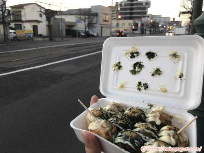 2019年11月函館旅行 たこやきこがね たこ焼き