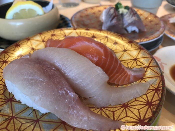 2019年11月函館旅行 まるかつ水産 回転寿司